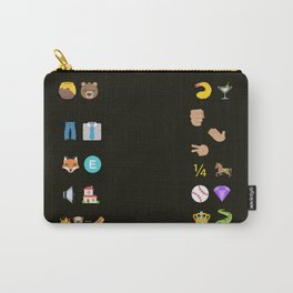 Emoji Puzzle #1 Carry-All Pouch