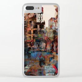 A well protected street Clear iPhone Case
