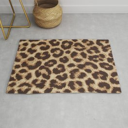 ReAL LeOparD Nude Rug