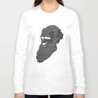 darwin Long Sleeve T-shirts featuring Darwin by science fried art
