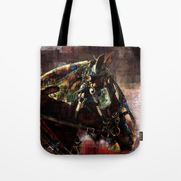 Real Horse Power Tote Bag