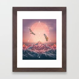 Find the Strength To Rise Up Framed Art Print