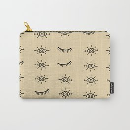 Tribal Eyes Carry-All Pouch