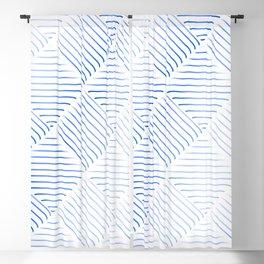 Diagonal Stripes Background 37 Blackout Curtain