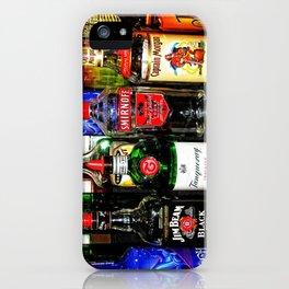Liquor Bottles iPhone Case