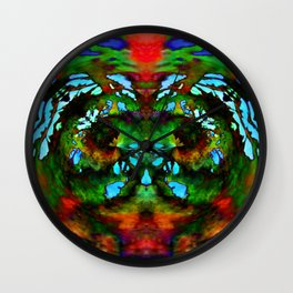 Art Therapy Wall Clock