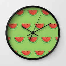 Mmmmm....Watermelon Wall Clock
