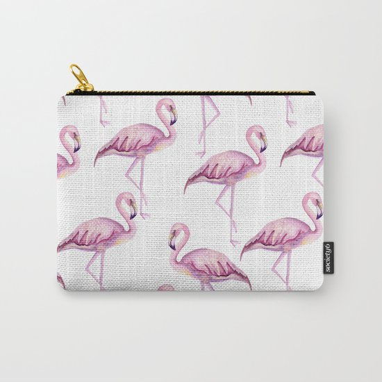 Pink flamingo Carry-All Pouch
