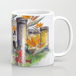 Castle Nuovo Under Attack Coffee Mug