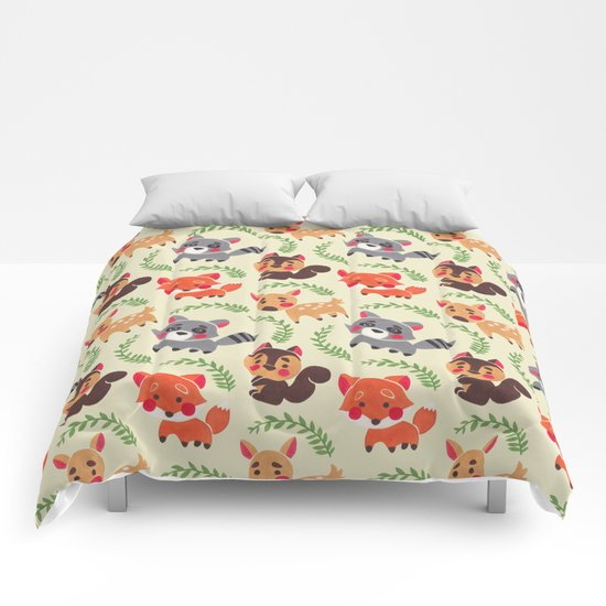 The Happy Forest Friend Comforters