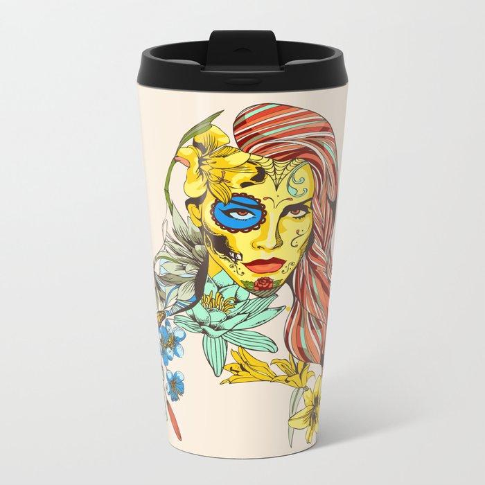 Shades Of Cool Metal Travel Mug