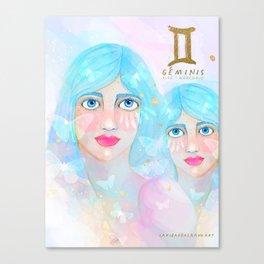 Geminis Queen Canvas Print