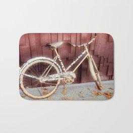 virtual bicycle Bath Mat