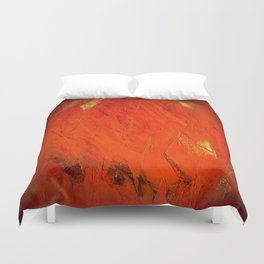 Rustic Orange Home Decor - Comforters - Tapestry - Pillows - Rugs - Shower Curtains Duvet Cover