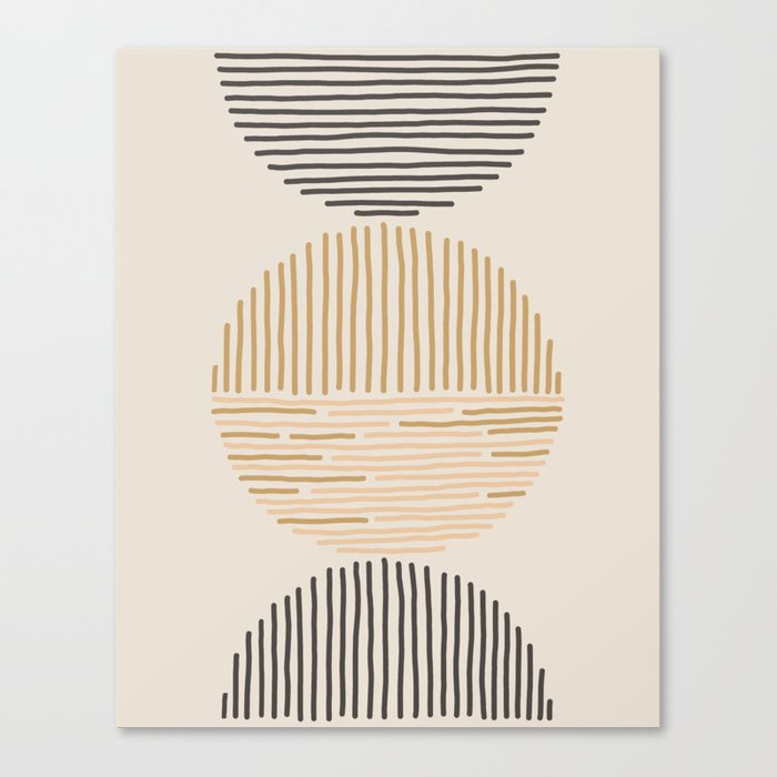 one last swim Canvas Print