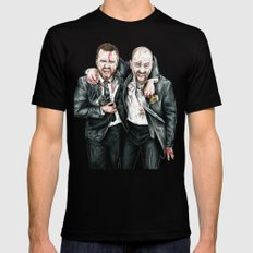 Breaking Bad Mens Fitted Tee Black LARGE