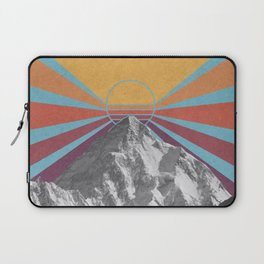 Retro Mountain Sunburst / K2 Laptop Sleeve