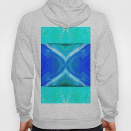 483 - Abstract colour design Hoody