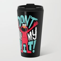 Crazy Elmo Travel Mug