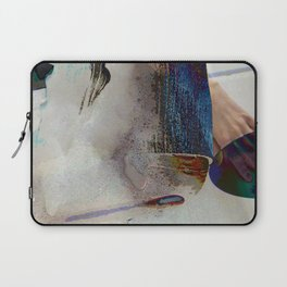 Soapy Blue Laptop Sleeve