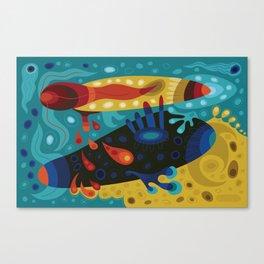 Turbo-Wobble Canvas Print