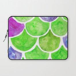Mermaid Scales Green & Purple Laptop Sleeve