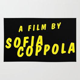 a film by Sofia Coppola Rug