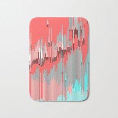 abstract bits Bath Mat