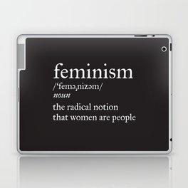 Feminism Definition Laptop & iPad Skin