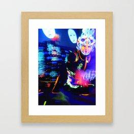 Split in two Framed Art Print