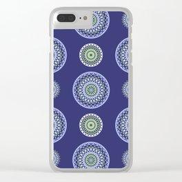 AFE Mandala Pattern Clear iPhone Case