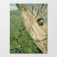vertigo Canvas Prints featuring vertigo by Jesse Treece