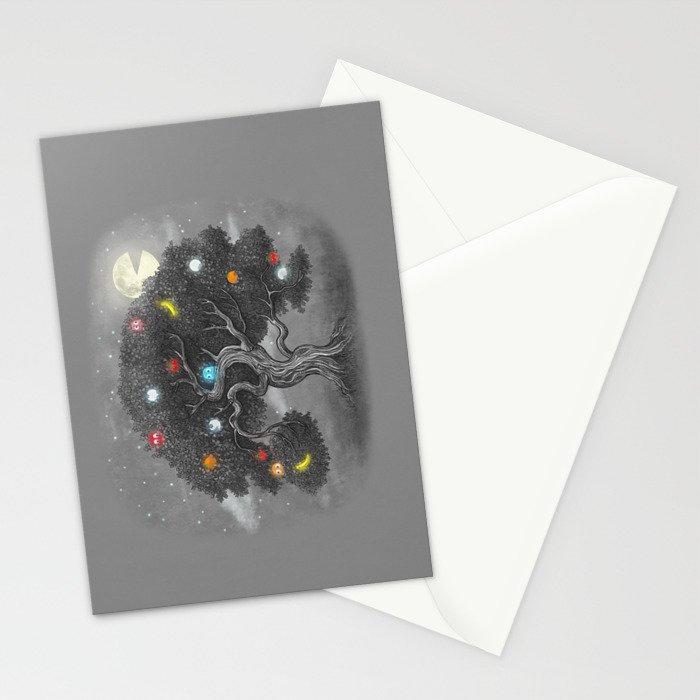 Midnight Snack  Stationery Cards