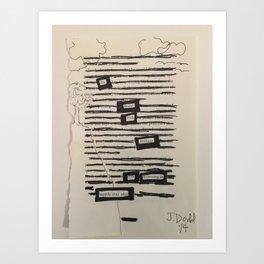BRILLIANT EYES Art Print
