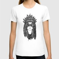 headdress T-shirts featuring Headdress by Caleb Swenson