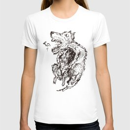 Bestiary #2: Two bodies to feed T-shirt