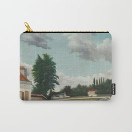 Outskirts of Paris Carry-All Pouch