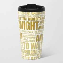 The Office (Dwight Color Edition) Travel Mug