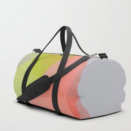Fresh / Poster, scandinavian, art print, drawings, paintings, illustration, low poly, geometric Duffle Bag