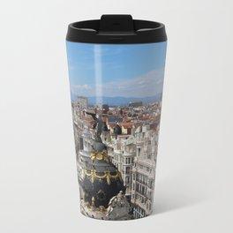 Madrid Espana Travel Mug