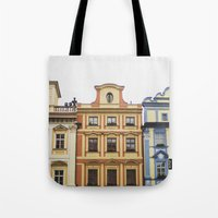 prague Tote Bags featuring Prague   by Kameron Elisabeth