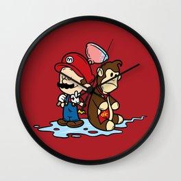 Mario and Kong Wall Clock