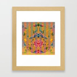 Chinese Decorative Design Framed Art Print