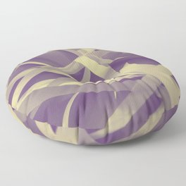 Purple paper Floor Pillow