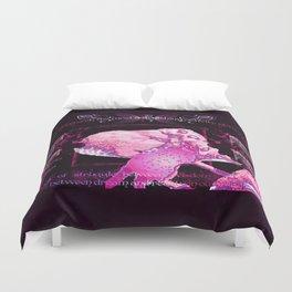 Pink Meerkats Duvet Cover