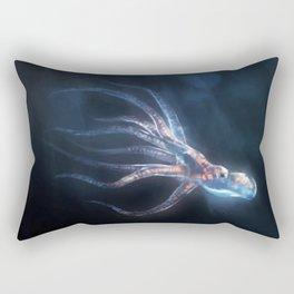 Polygon Deep Sea Octopus Rectangular Pillow