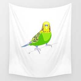 Cookie the Parakeet Wall Tapestry