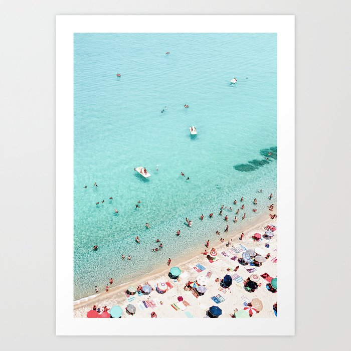 Beach Day Kunstdrucke