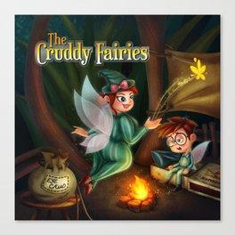 The Cruddy Fairies Canvas Print