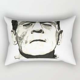 Boris Karloff A.K.A. Frankenstein Rectangular Pillow